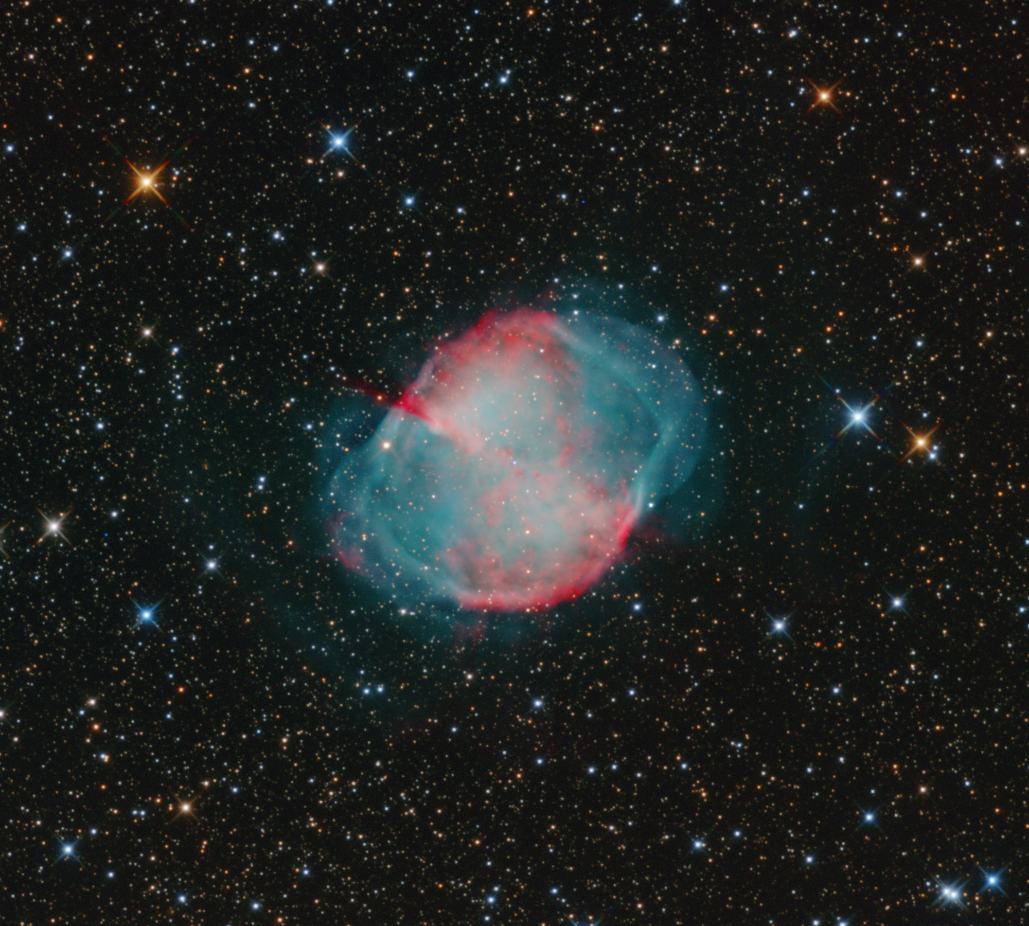M27 - The Dumbbell Nebula in Vulpecula